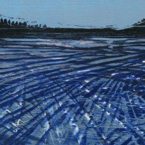 Damtjern III | 13 x 18 cm | Houtsnede | Jose op ten Berg | Gallery Untitled