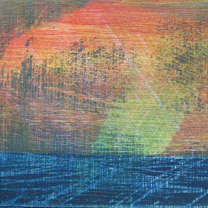 Poollicht | 14 x 20 cm | Houtsnede | Jose op ten Berg | Gallery Untitled