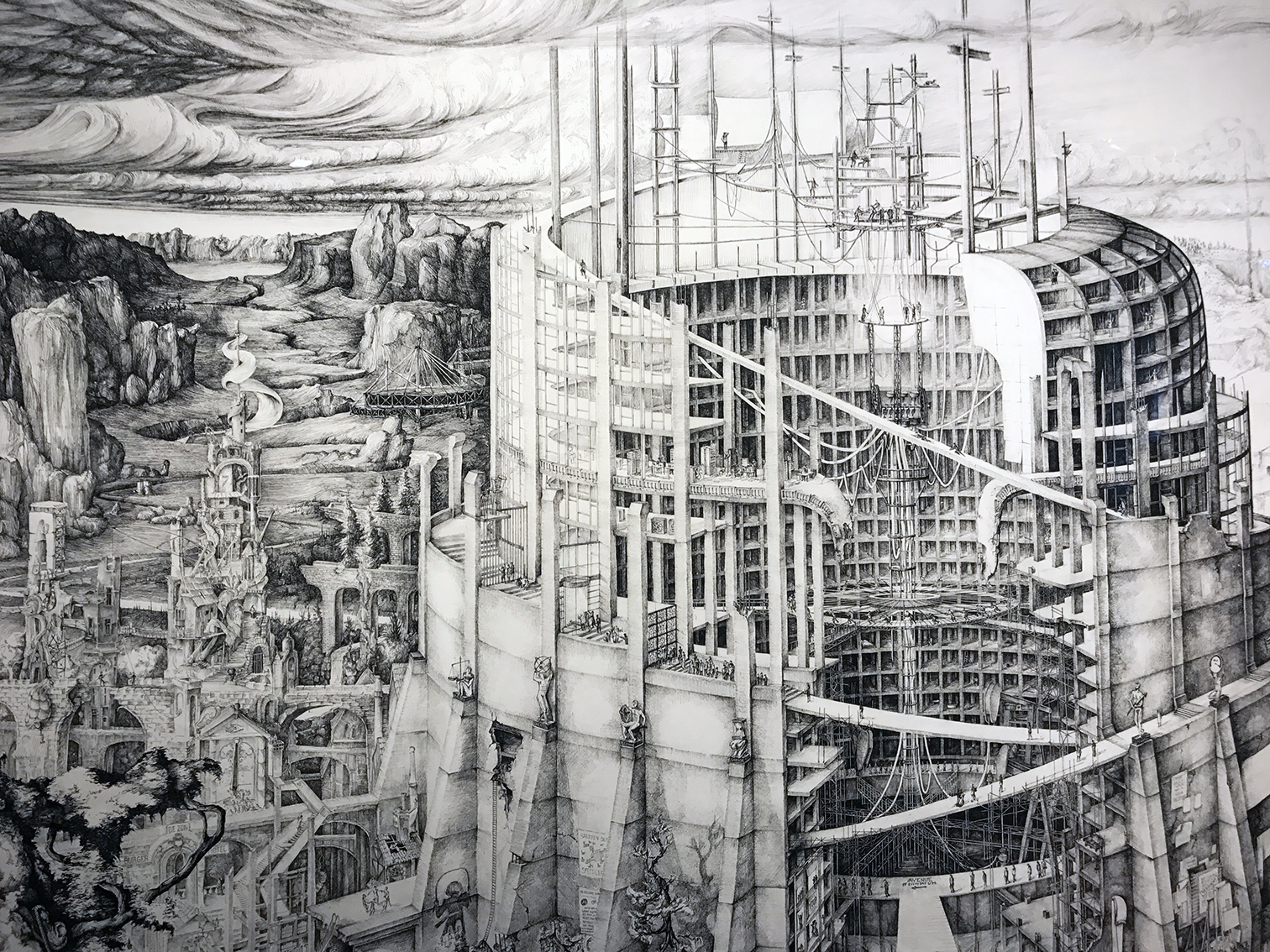 Detail The Babylonian Tower of Modernity | Carlijn Kingma | Gallery Untitled