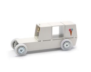 Archetoys IJscowagen wit | Onbeperkte oplage | Staal gecoat | Floris Hovers | Gallery Untittled