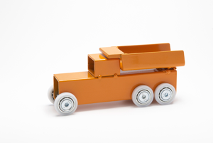 Archetoys Kiepwagen oranje | Onbeperkte oplage | Staal gecoat | Floris Hovers | Gallery Untittled