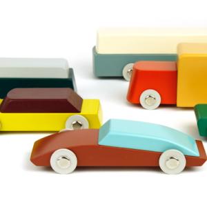 Duotone Cars | Onbeperkte oplage | 6 modellen - div. afmetingen | Beukenhout - waterbasis lak | Floris Hovers | Gallery Untitled