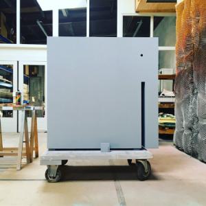 Olifant | Oplage 1/8 | 116,5, 32 x 116,5 cm | Hout/multiplex berken - lak (waterbasis) | Floris Hovers | Gallery Untitled
