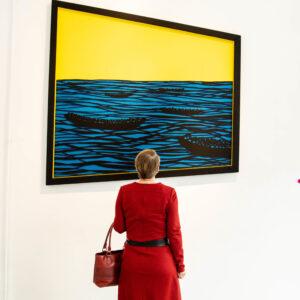 Exclusieve rondleidingen door Driessens & van den Baar in Gallery Untitled!